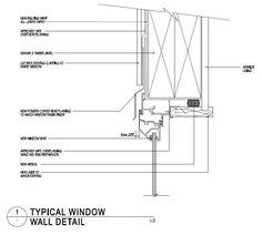 Floor To Ceiling Windows, Windows And Doors, Window Detail, Ceiling Detail, Detailed Drawings, Architecture Details, Beams, Floor Plans, Flooring