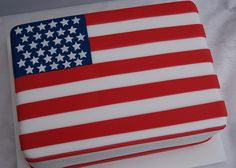 USA Flag Cake | by Cakes by Occasion
