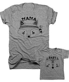 Baby Life maman vie correspondant à mère bébé Ensemble Cadeau-Femme T Shirt /& baby bodysui