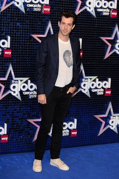 Mark Ronson attends The Global Awards 2019 at Eventim Apollo, Hammersmith on March 2019 in London, England. Get premium, high resolution news photos at Getty Images Mark Ronson, Red Carpet Looks, Apollo, London England, Musicians, Nice Dresses, Awards, March, Running