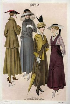 1905 - Fashion catalog, The Royal Pattern, Co. New York