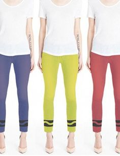 Crayola for J Brand Jeans! (check out what other fake designer collabs @Lucky Magazine dreamed up)