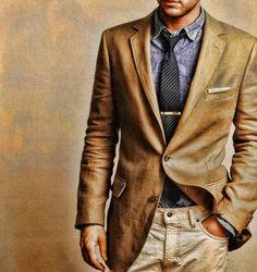 That blazer. via Skill regimental (tumblr)