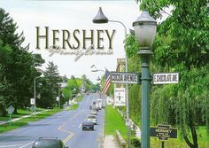 Hershey, PA for the love of chocolate. Love going here just to get fresh chocolate.