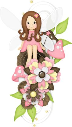 FLOWERS CLIP ART Clip Art, Cute Images, Cute Pictures, Cute Clipart, Theme Noel, Beautiful Drawings, Fairy Land, Digi Stamps, Copics