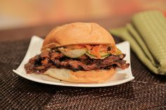 the chew | Recipe  | Mario Batali's Korean-Style Short Rib Sandwich