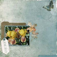 Cilenia Curtis - June Wonders - Scrap Art Studio Gallery