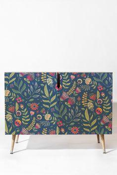 Pimlada Phuapradit Blue Belle Credenza | DENY Designs Home Accessories