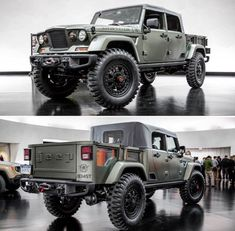 Auto Jeep, Jeep Pickup, Jeep 4x4, Jeep Truck, 4x4 Trucks, Cool Trucks, Cool Cars, Rat Rods, Jeep Concept