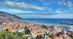Funchal is the capital of Madeira and the most populous out of the Portuguese mainland. The view of Funchal is magnificent, with its streets.. + Info »»  #funchal #city #town #madeira #island