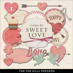 Sunday's Guest Freebies~ Far Far Hill  ♥♥Join 3,400 people. Follow our Free Digital Scrapbook Board. New Freebies every day.♥♥