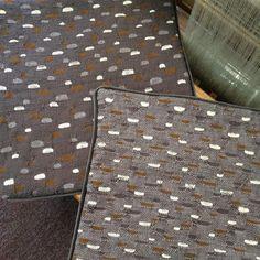 CWS Dreamweaver Peggy Orloff's honeycomb cloth sewn into pillow cases. #chicagoweavingschool #chicagoweavers #weavingschool #weavingclasses #weavingcourse #weavinglesson #weaversofinstagram #handwovenpillows #honeycombweave