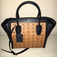 MCM Bag & Wallet MCM Medium Kathy Visetos Bag & Heritage Zipped Wallet. MCM Bags Satchels