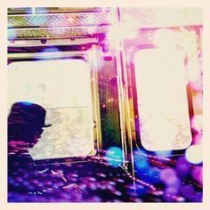 I'm on a train! #cameran @ikykm-#cameranapp