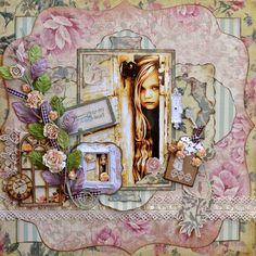 Key To My Heart  ~~Scraps of Elegance~~ - Scrapbook.com