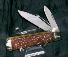 "Ulster Jack Knife Pyralin Handled Ulster USA Circa-1940's 3-5/16"" Cl. Rare Piece @ ditwtexas.webstoreplace.com"