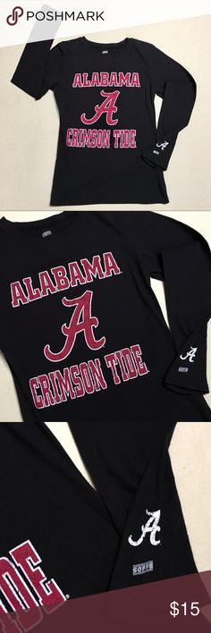 University of Alabama - Women's Long Sleeve Shirt University of Alabama  ❤️ Crimson Tide Long Sleeve Shirt   Size Women's Large   New Without Tags!!  Roll Tide 🌊 Soffe Tops Tees - Long Sleeve