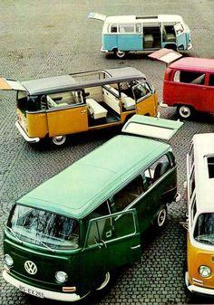 VW T-Series (Bulli). We were always fans of this cult little bus. Benidorm, Spain, España