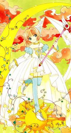 Illustration from the Cardcaptor Sakura Memorial Book Syaoran, Cardcaptor Sakura, Sakura Sakura, Kawaii Art, Kawaii Anime, Pokemon Show, Card Captor, Clear Card, Manga Characters