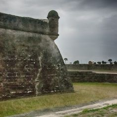Castillo de San Marcos Fortress in St. Augustine, Florida + Brazilian Daiquiri Recipe