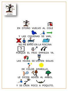 Poesia las estaciones del año con pictogramas. Spanish Class, Spanish Lessons, Spanish Immersion, Classroom Projects, Spanish Language, Classroom Management, Preschool Activities, Teacher, Student