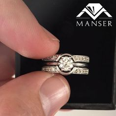 Custom made fitted eternity diamond wedding bands Diamond Wedding Bands, Custom Made, Diamond Wedding Rings