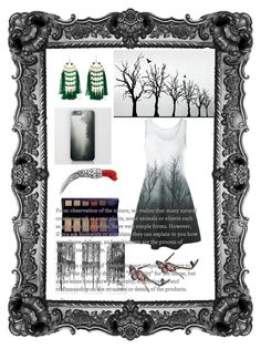 """Dark forest 🕸🕸🕸"" by elmua ❤ liked on Polyvore featuring Sophia Webster, Rosantica, By Terry and Gucci"