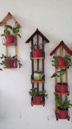 Diy Wooden Projects, Woodworking Projects Diy, Wooden Crafts, Wooden Diy, House Plants Decor, Plant Decor, Diy Home Crafts, Craft Stick Crafts, Driftwood Wall Art