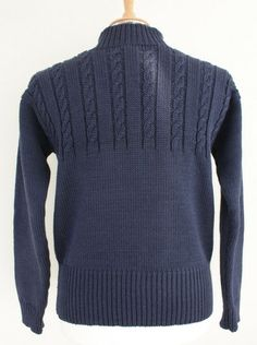 Fame Knit Fishermans Sweaters by Wayside Flower Hand made in England from British breeds 5ply wool