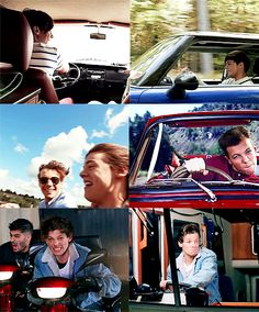 Louis Tomlinson. why do they allow him to drive he always ends up breaking them