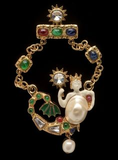 Mermaid Necklace by Kenneth Jay Lane