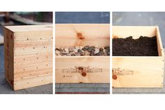 How To: create a repurposed wine crate planter