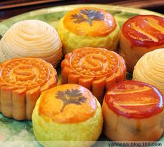 Moon Cakes at Moon Festival in Chinatown