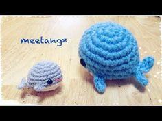 How to crochet a whale - YouTube ༺✿ƬⱤღ http://www.pinterest.com/teretegui/✿༻