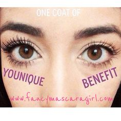 This is the mascara you have been hearing about that is the best! Younique, get it here-  www.fancymascaragirl.com
