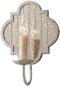 View the Troy Lighting B3981 Gramercy 1 Light Wrought Iron Wall Sconce with Mirror Backplate at LightingDirect.com.