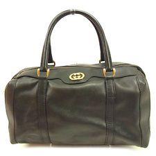 c9fe8bf079 Auth Gucci Boston bag interlocking used J17983 Boston Bag