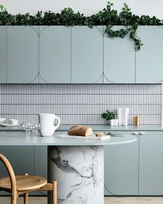 """Bree Leech on Instagram: """"I designed a series of spaces for @laminexau - this is my favourite - it's all about the curves - and those tiles 🙌🏻 