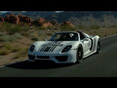 Porsche 918 Spyder Prototype Hot Weather Testing - Coming in 2015 with a special edition 911 Turbo as an option. Wow!