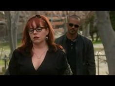 """✯SHEMAR MOORE with Kirsten Vangsness✯ """"I don't need you to protect me."""" """"Tough. Cause I think I'm gonna stay on the job a little while longer."""" :')"""