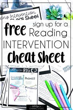 Reading Intervention for Struggling Readers