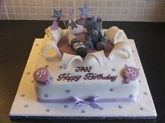 Me to You 50th Birthday Cake by Helen The Cake Lady, via Flickr