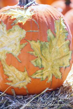 StoneGable: PUMPKIN ART