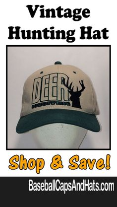Hunting Hats - Check out our selection of Hunting Hats like this Vintage  Trucker Hat available 3a88b97fd1ea
