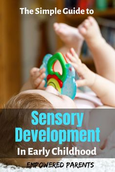Babies and children learn and discover the world through their senses. Find out what the importance of sensory development is and how children learn through their seven senses. Early Learning Activities, Sensory Activities Toddlers, Preschool Learning, Teaching Kids, Child Development Stages, My Five Senses, Toddler School, Learning Through Play, Early Childhood Education