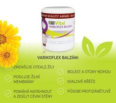 Mast na křečové žíly - Varikoflex   HillVital Edm, Aloe Vera, Aloe