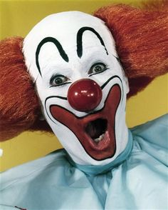 Bozo the Clown was a favorite character for many years.  His costume would be fun to make for Halloween.
