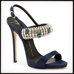 I'm pretty sure this magnificent Giuseppe Zanotti shoe counts as #jewelry. Would you wear these?