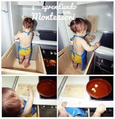 Aprendiendo con Montessori: Montessori en Nuestro Hogar : La hora de Comer.