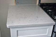 Close Up Of Kitchen Counter Lg Viatera Cortina Quartz That